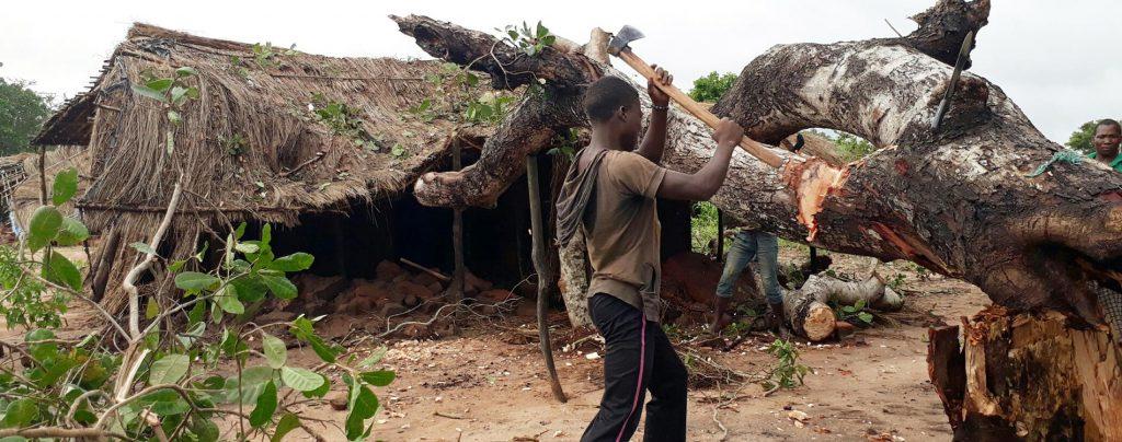 Mosambik: Hilfe beim Wiederaufbau von zwei Dorfkapellen
