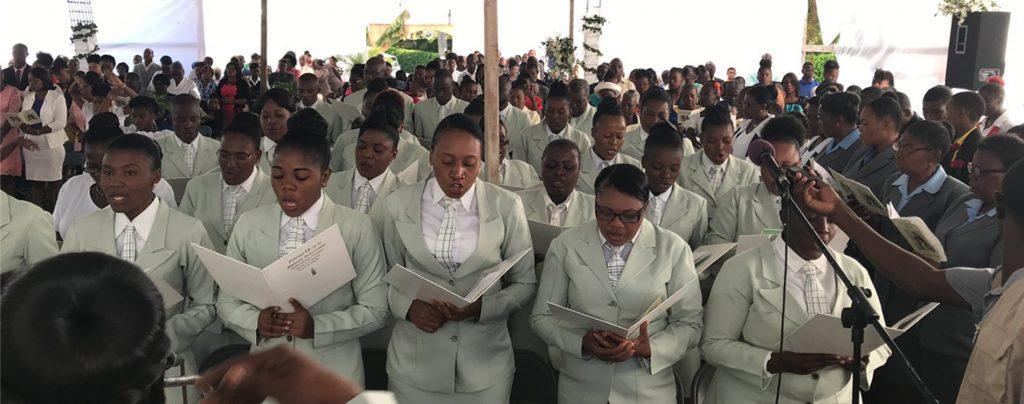 Haiti: Bau einer Pfarrkirche in der Stadt Hinche