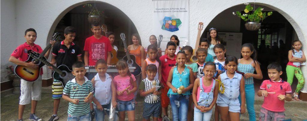 Kolumbien: Versöhnung beginnt bei den Kleinen