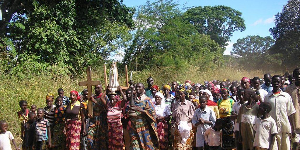Dschihadistische Gruppen hissen die schwarze Flagge in Mosambik