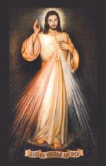 """Gebetskarte <br> """"Rosenkranz zur göttlichen Barmherzigkeit"""""""