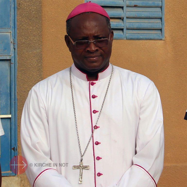 Bischof Laurent Dabiré aus Dori (Burkina Faso).