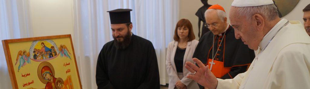 """Papst unterstützt erneut Syrienkampagne von """"Kirche in Not"""""""