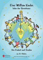 """Faltblatt zur Aktion - """"Eine Million Kinder beten den Rosenkranz"""""""
