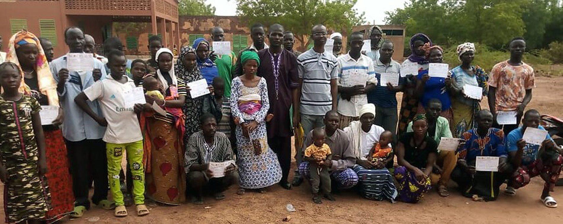 Vertriebene Christen in Burkina Faso