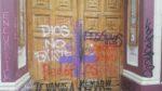 Chile: Gläubige versammeln sich zum Gebet in geplünderter Kirche