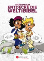 Bibelstickeralbum - <br>Info- und Bestellfaltblatt