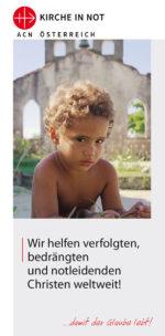 Informationsbroschüre <br>über KIRCHE IN NOT