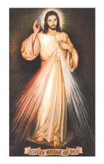 Gebetsblatt Barmherziger Jesu