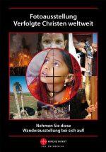"""Faltblatt zur Fotoausstellung """"Verfolgte Christen weltweit"""""""