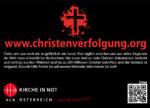 Flyer Christenverfolgung