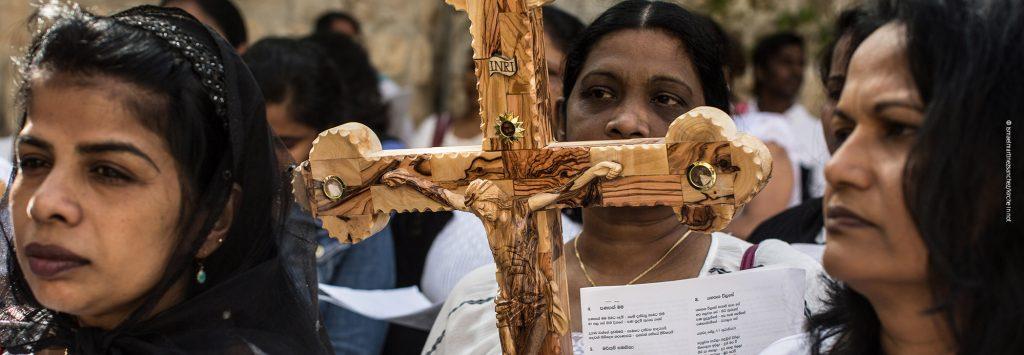 Christen im Heiligen Land