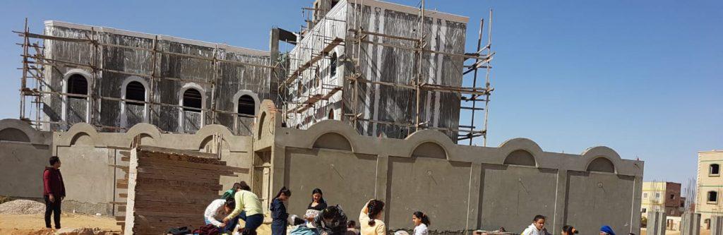 Hilfe für die Fertigstellung der neuen Kirche mit Gemeindesaal