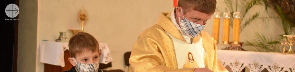 Ukraine: Priester gehören zu den Risikogruppen, die Schutz vor COVID-19 brauchen