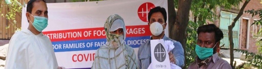 """Pakistan: Corona-Nothilfen von """"Kirche in Not"""" zeigen Wirkung"""