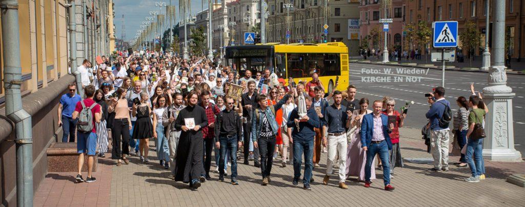 """Weißrussland: """"Die Menschen haben Sehnsucht nach Demokratie"""""""