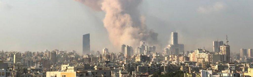 Libanon: KIRCHE IN NOT hilft den Opfern der Explosion in Beirut
