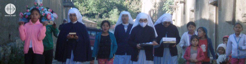 Bolivien: Existenzhilfe für sechs Ordensfrauen in armen Pfarren in den Anden