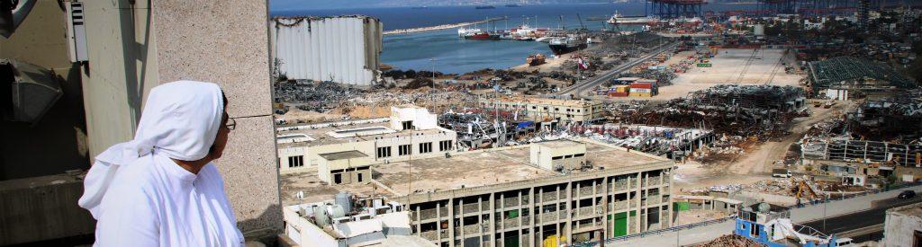 Libanon: KIRCHE IN  NOT gibt fünf Millionen Euro für den Wiederaufbau in Beirut