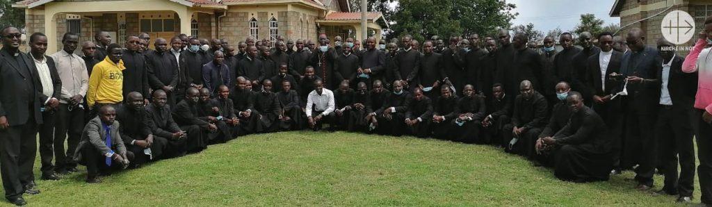 Kenia: Ausbildungshilfe für 81 Seminaristen aus der Diözese Eldoret