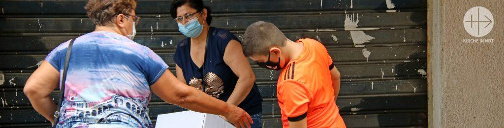 Libanon: Georgettes täglicher Kampf um die Ernährung ihrer drei Enkelkinder