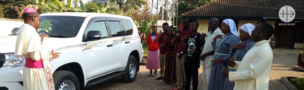 DANKE: Ein Auto für die pastorale Arbeit in der Diözese Ifakara in Tansania