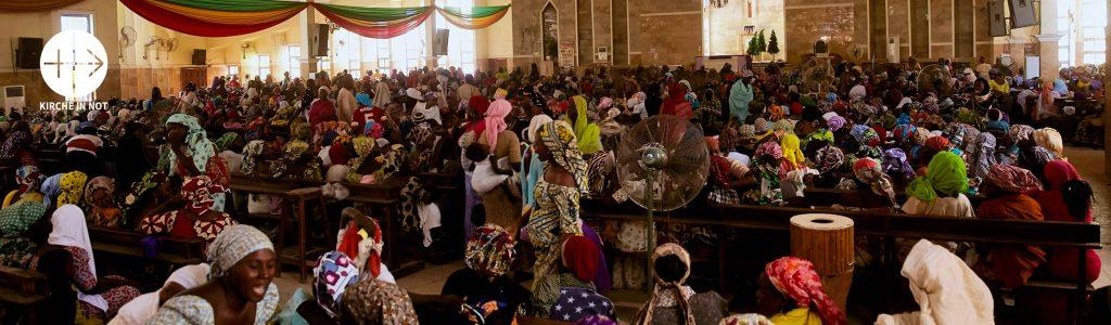 """Nigeria: """"Boko Haram wird uns niemals unseren Glauben nehmen"""""""