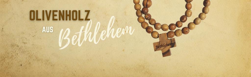 Erhalten Sie ein Olivenholzprodukt aus Bethlehem!