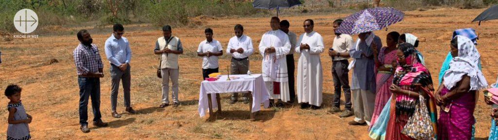 Indien: Hilfe für den Bau einer Kirche