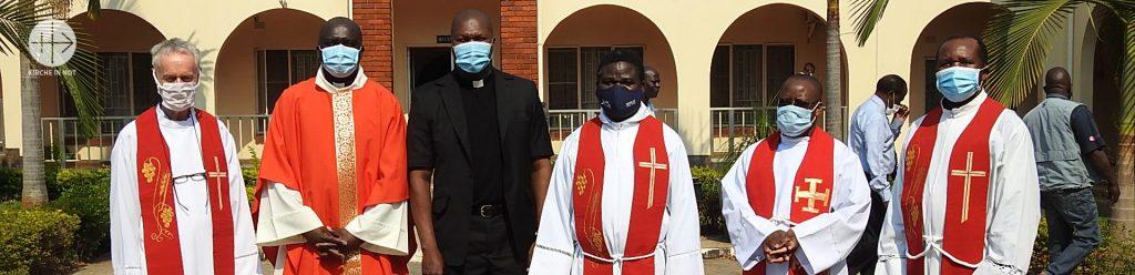 Sambia: Schutzmaterial gegen Covid-19 für Priester und Ordensleute