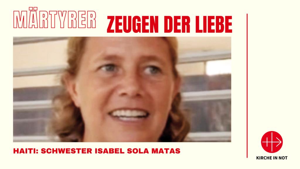 Märtyrer - Zeugen der Liebe: Schwester Isabel Sola Matas
