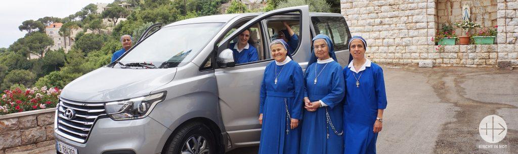 DANKE: Libanon - Ein Auto für die Arbeit von Ordensschwestern