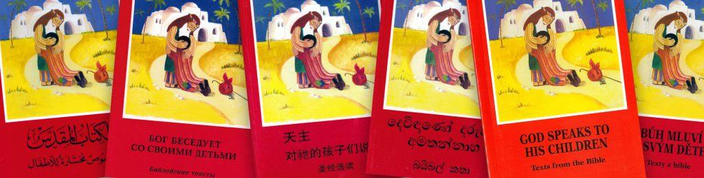 """Wanderausstellung """"Unsere Kinderbibel erobert die Welt"""""""