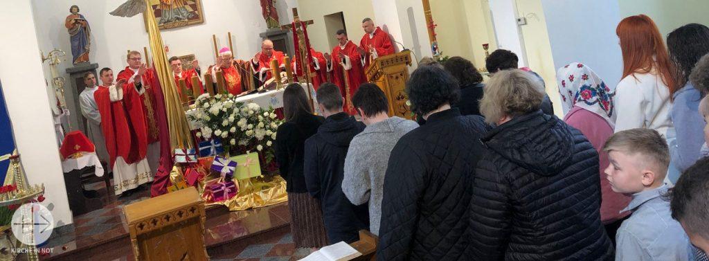 Ukraine: Eine Lautsprecheranlage für die Pfarre des hl. Stanislaus in Balta