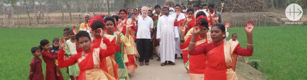 DANKE: Bangladesch - Bauhilfe für eine Dorfkapelle